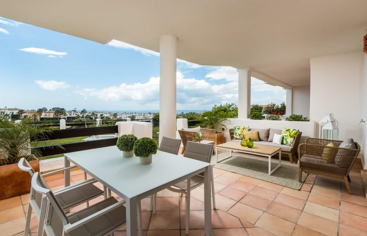 Four perfect properties for dining al fresco